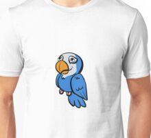 Blue Quaker Peepo Unisex T-Shirt