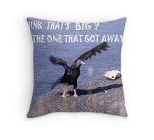 92201-27  THE FISHERMAN Throw Pillow