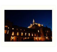 National Theater in Oslo Art Print
