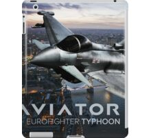 Eurofighter Typhoon Jet Fighter iPad Case/Skin