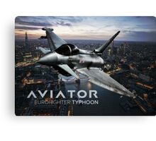 Eurofighter Typhoon Jet Fighter Canvas Print