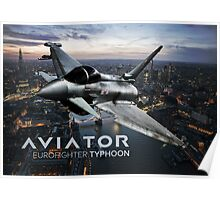 Eurofighter Typhoon Jet Fighter Poster