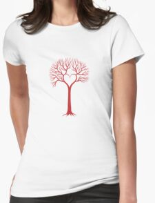 red love tree with heart branches T-Shirt