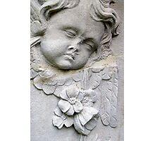 Angel Tombstone Photographic Print