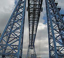 Middlesbroughs' World famous Transporter Bridge by dougie1