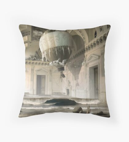 Arrested Expansion or Cardiac Arrest Throw Pillow