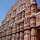 Jaipur India - famous landmark by Braedene