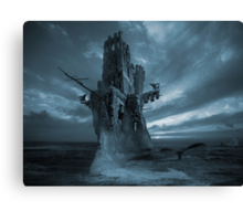The Flying Dutchman phantom Canvas Print