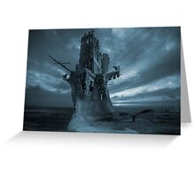 The Flying Dutchman phantom Greeting Card
