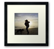 coastal joy Framed Print