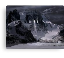 Sanctuary or snow mountain enter Canvas Print
