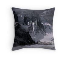 Sanctuary or snow mountain enter Throw Pillow