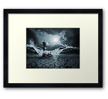 Panic Attack or Anxiety PTSD Framed Print