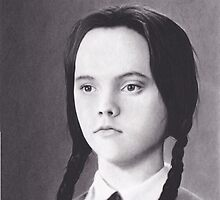 Wednesday Addams by brittnideweese