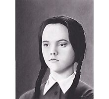 Wednesday Addams Photographic Print