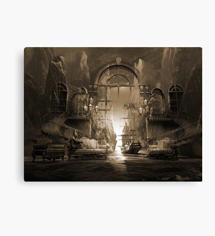 Mindscape or virtual reality dreamscape Canvas Print