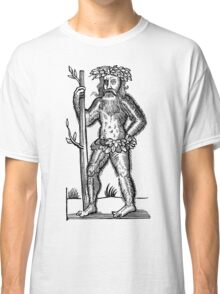 The Green Man - Renaissance Woodcut Classic T-Shirt