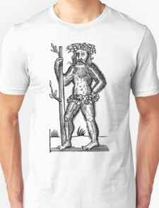 The Green Man - Renaissance Woodcut Unisex T-Shirt