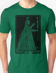 Antique Woodcut Girl Ghost T-Shirt