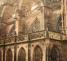 Strasbourg Cathedral  by JRobinWhitley