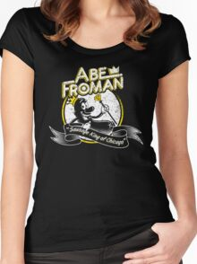 Abe Froman Women's Fitted Scoop T-Shirt