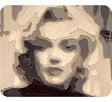 marilyn collage papercraft 3-d Photographic Print