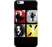 Team RWBY 4 Way Combo Characters iPhone Case/Skin
