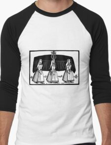 Renaissance Funeral Broadside Ballad Men's Baseball ¾ T-Shirt