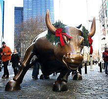 Stock Market Bull, N.Y. by soulphoto