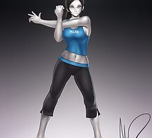 Wii Fit Trainer by hybridmink