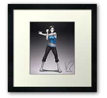 Wii Fit Trainer Framed Print