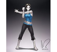 Wii Fit Trainer Photographic Print