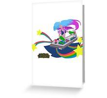 LoL | Minimalist Arcade Sona Greeting Card