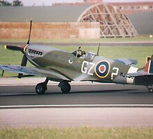 Spitfire airplane, Royal Air Force, UK by chord0