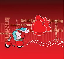 Happy Valentine's Day! by mangulica