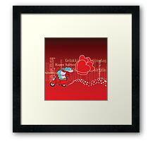 Happy Valentine's Day! Framed Print