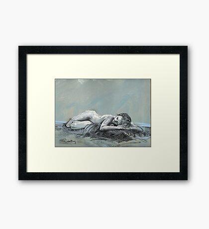 Life Drawing Framed Print