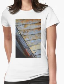 Abandoned Boat Womens Fitted T-Shirt