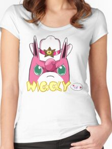Sheriff Wigglytuff Women's Fitted Scoop T-Shirt
