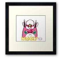 Sheriff Wigglytuff Framed Print