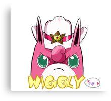 Sheriff Wigglytuff Canvas Print