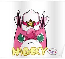 Sheriff Wigglytuff Poster