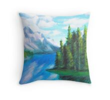 Spirit Island Throw Pillow