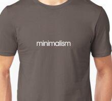 minimalism (white) Unisex T-Shirt