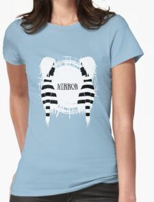 Mirror Womens Fitted T-Shirt