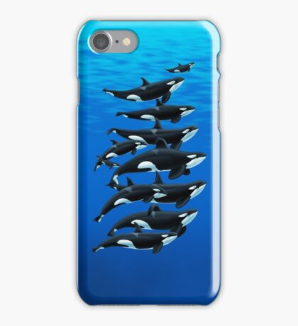 California Orcas iPhone Case/Skin