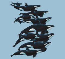 California Orcas Kids Tee