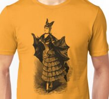 Victorian Bat Girl Costume Unisex T-Shirt