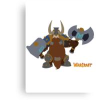 Warcraft | Minimalist Muradin Canvas Print