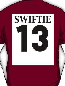 13 Team Swiftie Athletic Tee T-Shirt